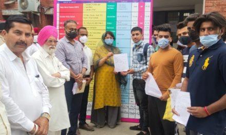 हाजीपुर में लगे रोजगार मेले में 134 नौजवानों का विभिन्न कंपनियों ने किया मौके पर चयन
