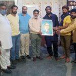 बहुजन समाज पार्टी की तरफ से गोल्ड मैडलिस्ट गुरसेवक सिंह का किया सम्मान