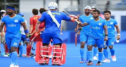 ਓਲੰਪਿਕਸ : ਭਾਰਤੀ ਹਾਕੀ ਟੀਮ ਨੇ ਸਪੇਨ ਨੁੰ 3-0 ਨਾਲ ਹਰਾਇਆ